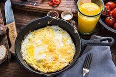 Classic spanish breakfast Stock Photos