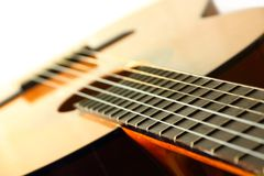 Classic spanish guitar Royalty Free Stock Photo