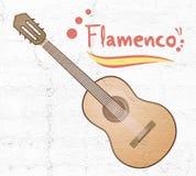 Classic spanish guitar Royalty Free Stock Image