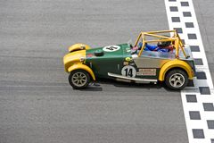 Classic sports car  Stock Photos