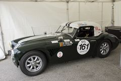 Classic sports car Royalty Free Stock Photography