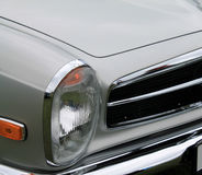 Classic sports car headlamp. Classic german sports car headlamp Stock Photo
