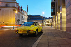 Classic sports car, Porsche 911 Targa Royalty Free Stock Photo