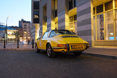 Classic sports car, Porsche 911 Targa Stock Photos