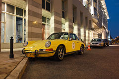 Classic sports car, Porsche 911 Targa Stock Photo