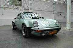 Classic sports car, Porsche 911 Turbo Stock Images