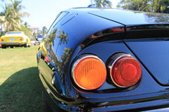 Classic sports car tail lights Royalty Free Stock Photography