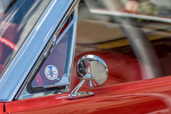 Classic sporty convertible of the 60's. Royalty Free Stock Photos