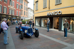 Classic spyder at Mille Miglia 2015 Royalty Free Stock Photo