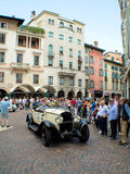 Classic spyder  at Mille Miglia 2015 Royalty Free Stock Image