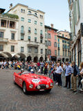 Classic spyder  at Mille Miglia 2015 Stock Photography