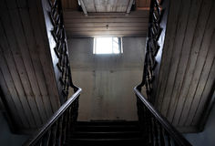 Classic staircase, high dynamic range Royalty Free Stock Photo