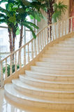 Classic staircase in a luxury room Royalty Free Stock Photography