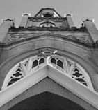 Classic Star of David on a Synagogue in Savannah, Georgia - USA. Savannah, a coastal Georgia city, is separated from South Carolina by the Savannah River. It's Royalty Free Stock Photography