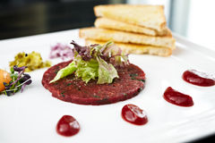 Classic tartare Stock Photography