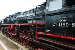 Classic steam locomotive Stock Image