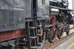 Classic steam locomotive Royalty Free Stock Photos