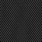 Classic steel wire fence Royalty Free Stock Photo