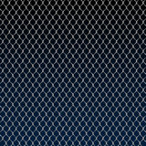 Classic steel wire fence background Royalty Free Stock Images
