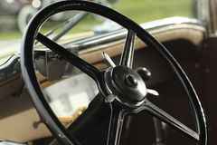 Classic Steering Wheel Royalty Free Stock Photography