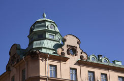 Classic Stockholm Architecture Stock Images