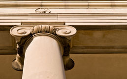 Classic Stone Column Royalty Free Stock Images