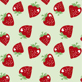 Classic strawberries seamless pattern Royalty Free Stock Images