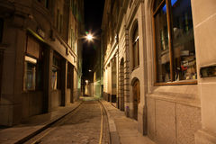 Classic Street in London, Idol Line Royalty Free Stock Image