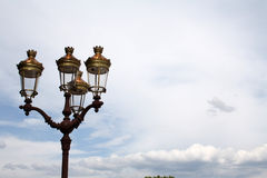 Classic streetlight stock photos