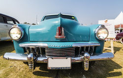 A classic 1947 Studebaker Champion Deluxe Commander in light blue Royalty Free Stock Image