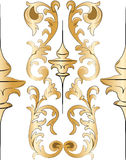 Classic style Acanthus ornament Royalty Free Stock Photos