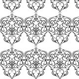 Classic style Acanthus ornament pattern Royalty Free Stock Image