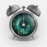 Classic Style Alarm Clock. Royalty Free Stock Image