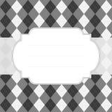 Classic style argyle background Royalty Free Stock Image