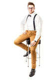 Classic style clothes Stock Photo