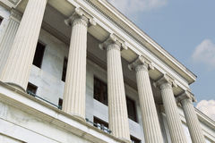 Classic Style Columns Royalty Free Stock Images