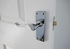 Classic style door handle Royalty Free Stock Image