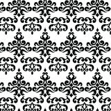 Classic style floral ornament pattern Royalty Free Stock Image