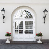 Classic Style Front Door Royalty Free Stock Image