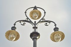 Classic style lamp post Stock Image