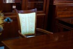 Classic Style Mahogany Cabinet Royalty Free Stock Photos