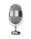 Classic style microphone Royalty Free Stock Images