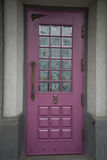 Classic style old wood front door Royalty Free Stock Image