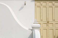Classic style of  retro staircase and doors. Stock Image