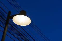 The classic style street lamp Royalty Free Stock Photo