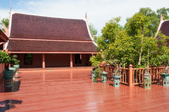 Classic style Thai wooden house. Stock Images