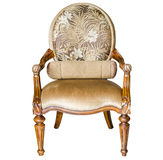 Classic Style Vintage Wooden Chair Stock Images
