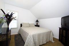Classic Stylish Bedroom Royalty Free Stock Photos