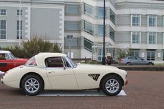 Classic stylish British sports car Stock Images