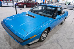 Classic Subaru XT 1986 - side view Royalty Free Stock Images